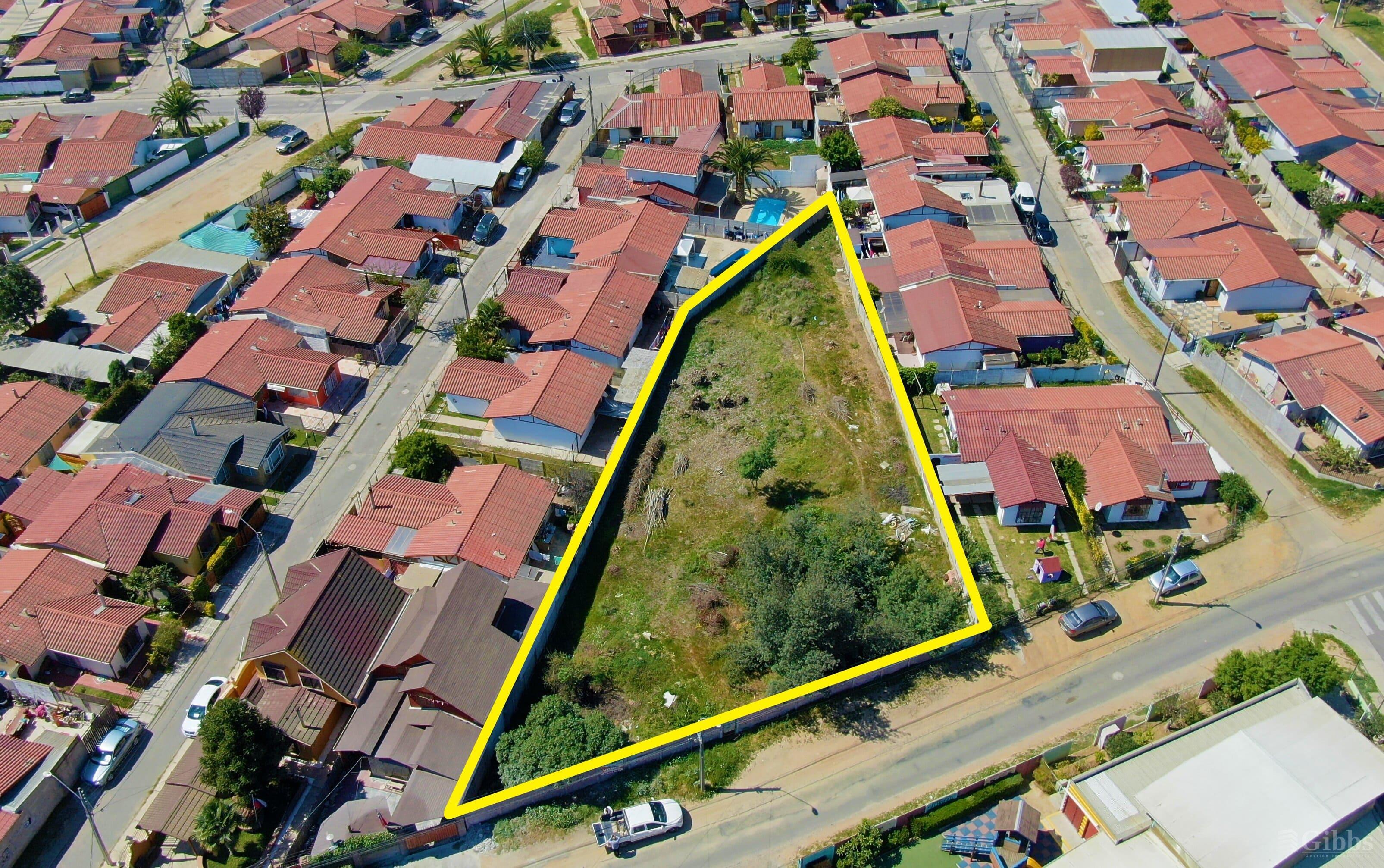 Terreno de 1250 Mts2 Para Proyecto Inmobiliario